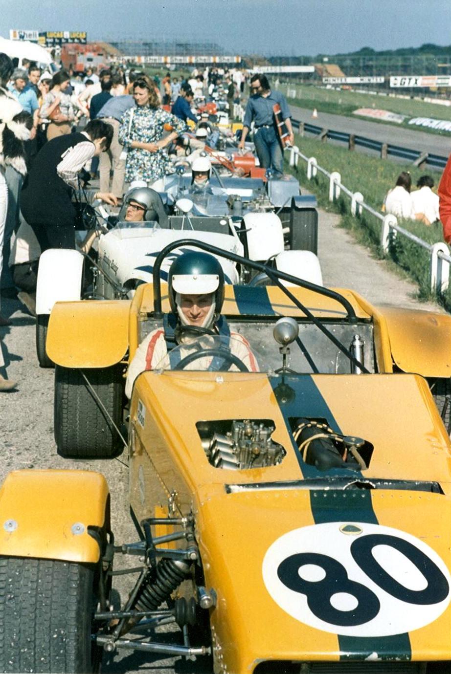 Lotus Seven Register Brighton Speed Trial 1957